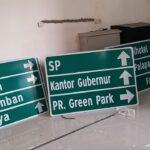 Produsen Dan Jual Segala Macam Jenis Rambu Lalu Lintas Atau Rambu Petunjuk Arah Jalan RPPJ Di Surabaya